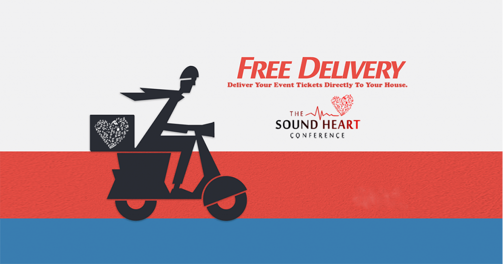 FREE DELIVERY FOR CONFERENCE TICKETS